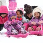 しっかりと降雪、一面の銀世界 箱館山スキー場営業開始 : 京都新聞