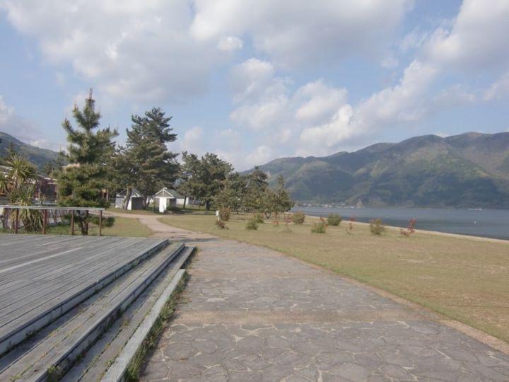 Lake biwa campground 2