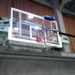パイプいす、バスケゴールに 体育館いす散乱、卒業式が遅延 : 京都新聞