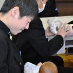 学ぶ:活動紹介 高島市立マキノ中学校 助産師が「いのちの授業」 /滋賀 – 毎日新聞