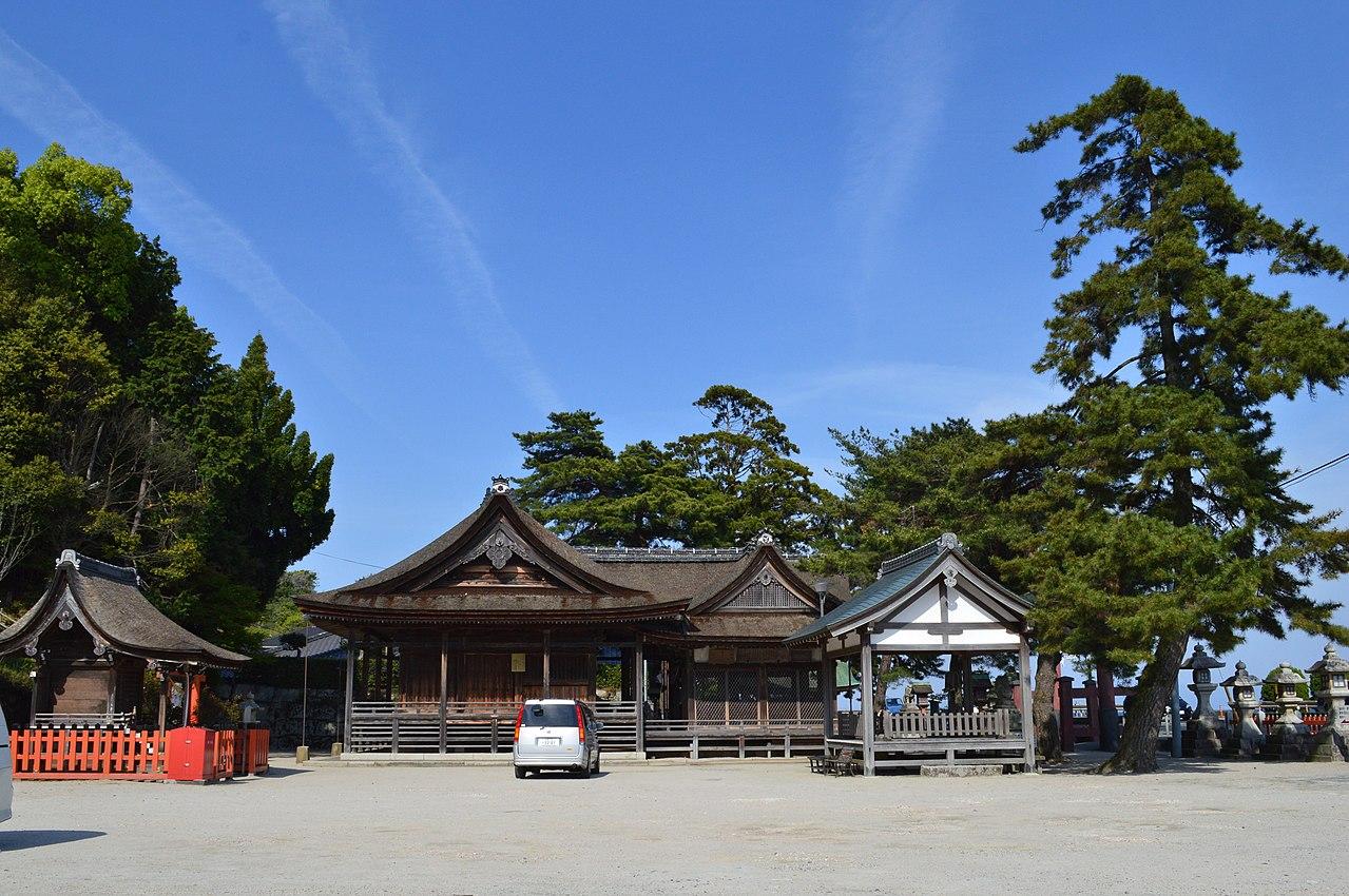 パワースポット白髭神社を琵琶湖の上から参拝する初詣クルーズ