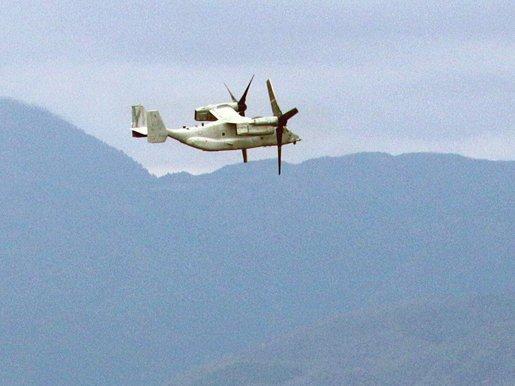 オスプレイ飛行ルート、最後まで自治体に伝えず 京都や滋賀上空で「確認」|社会|地域のニュース|京都新聞