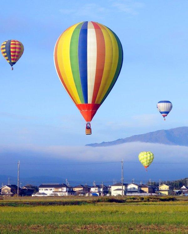 冬空にふわり、熱気球の旅楽しむ|社会|地域のニュース|京都新聞